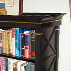 Bookcase with Gilded Highlights